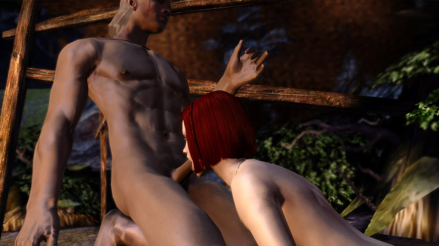 Sex scene dragon age nudity