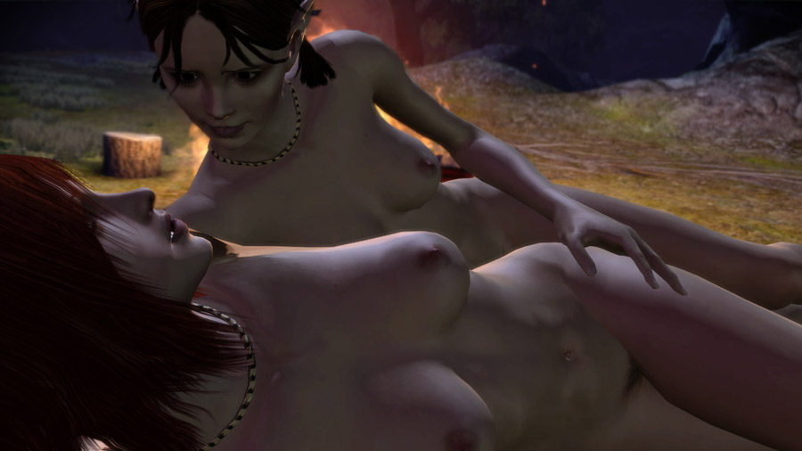 Dragon Age Nude Skins and Sex Patch