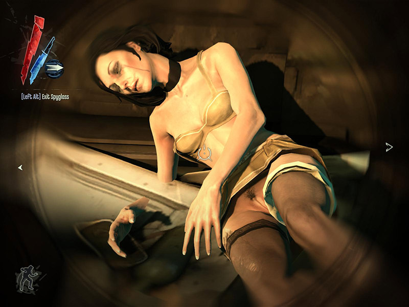 Dishonored nude