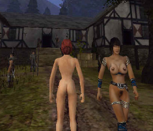 Gothic 2 nude skin
