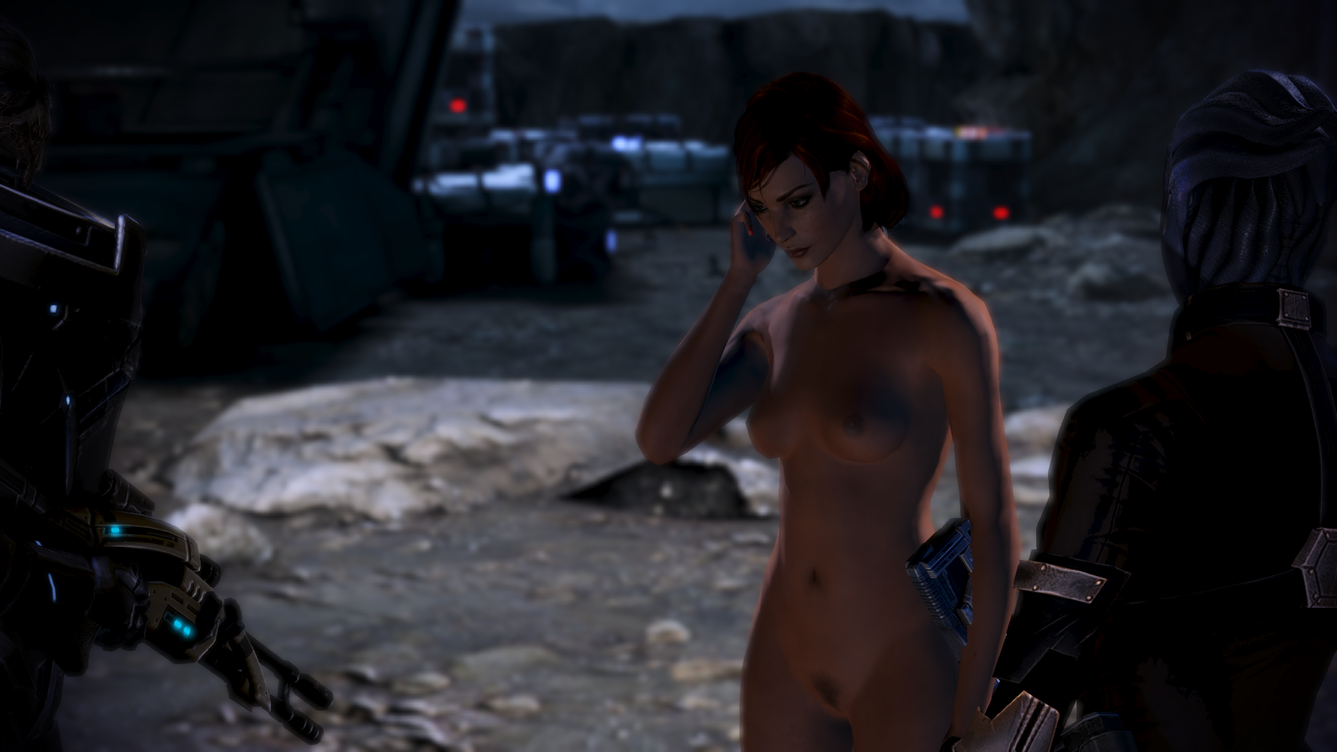 Mass effect nude skin patch anime picture