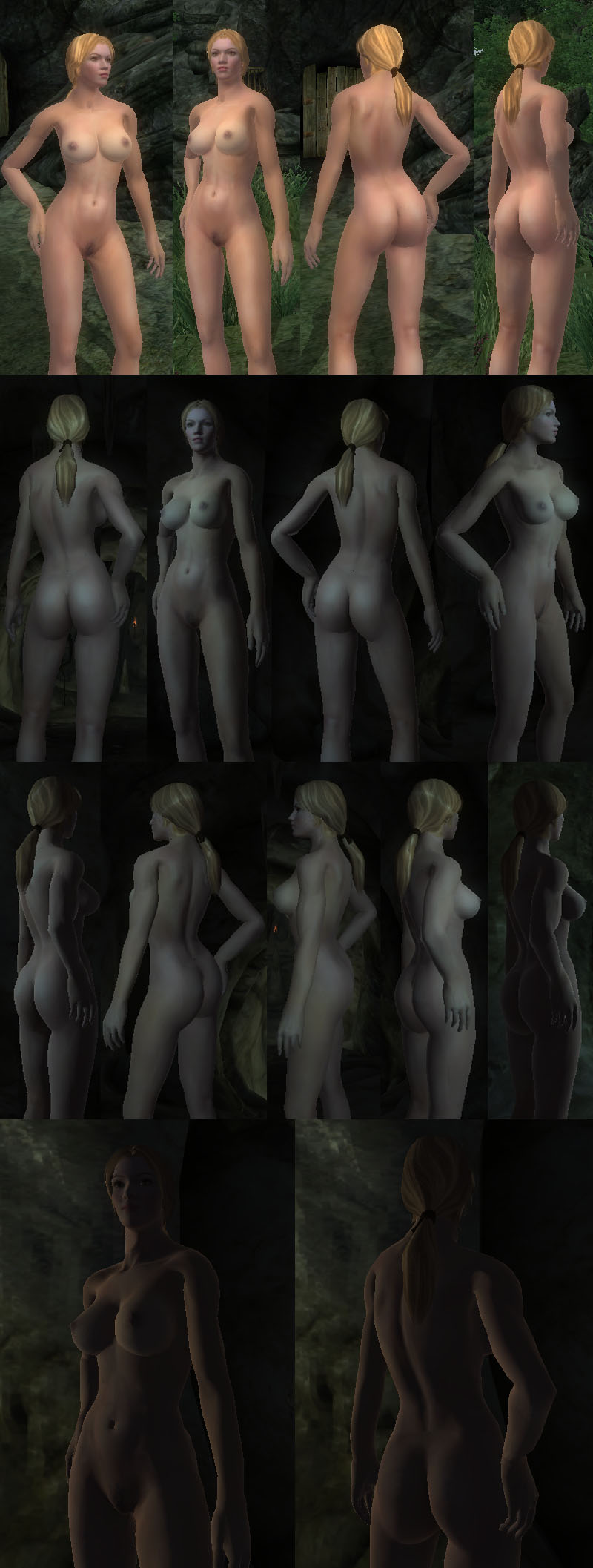 girl from oblivion naked