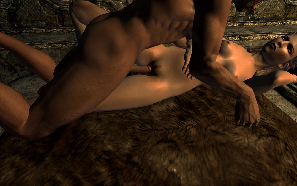 Something original naked naked playing girls skyrim