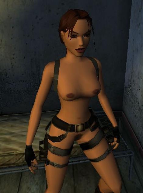 Lara croft - nude patch